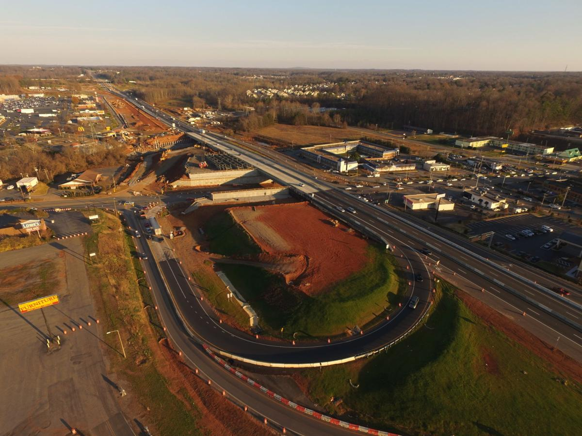 First phase of I-40/I-77 project on pace for spring 2017