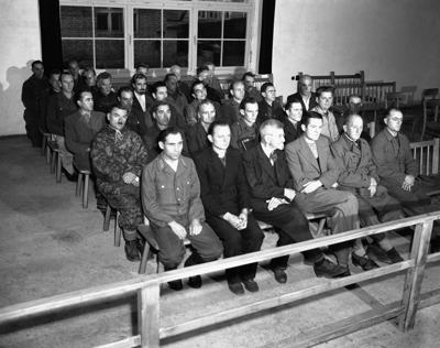 Germany Dachau Concentration Camp Trial