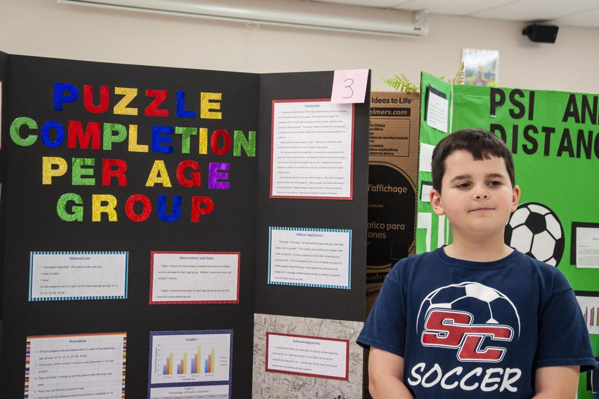 PHOTOS: Students present science projects at Statesville ...