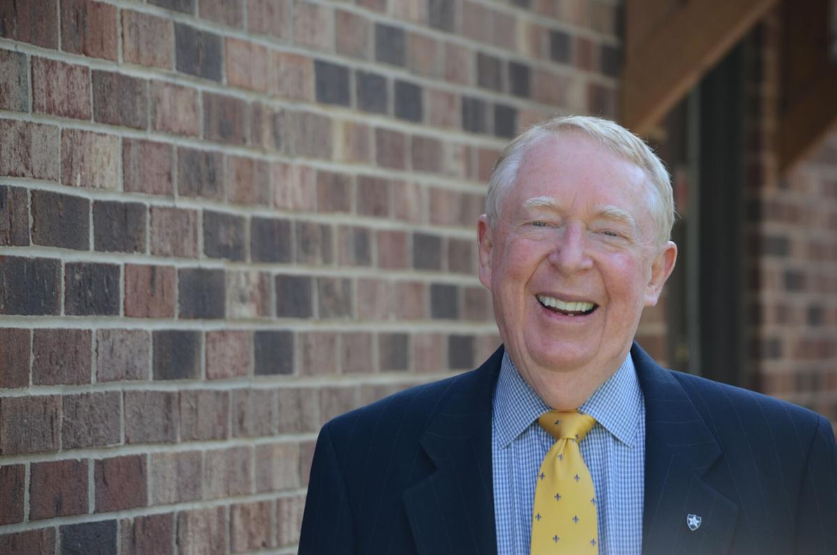 David Benbow poses outside is office on Wednesday. He is one of the North Carolina Bar Association's Citizen Lawyer Award winners that will be announced later this year.