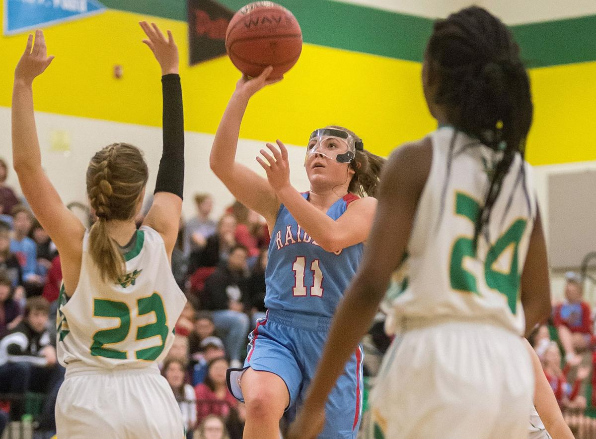 PHOTOS: North Iredell Girls Roll Past West Iredell