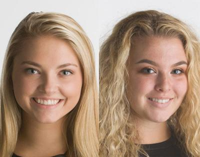 Macy Pope and Meredith Patterson named CVCC captains