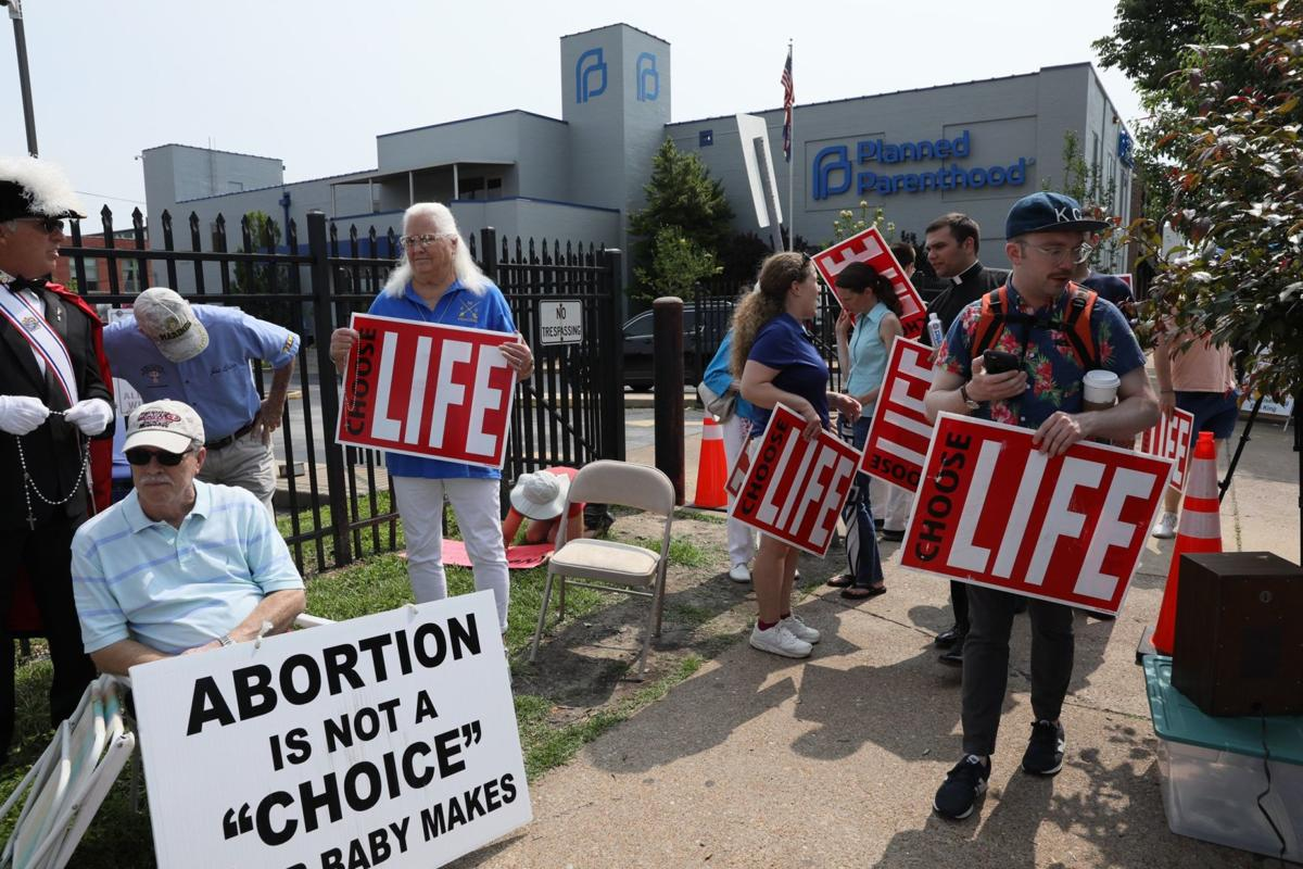 Protest at Planned Parenthood