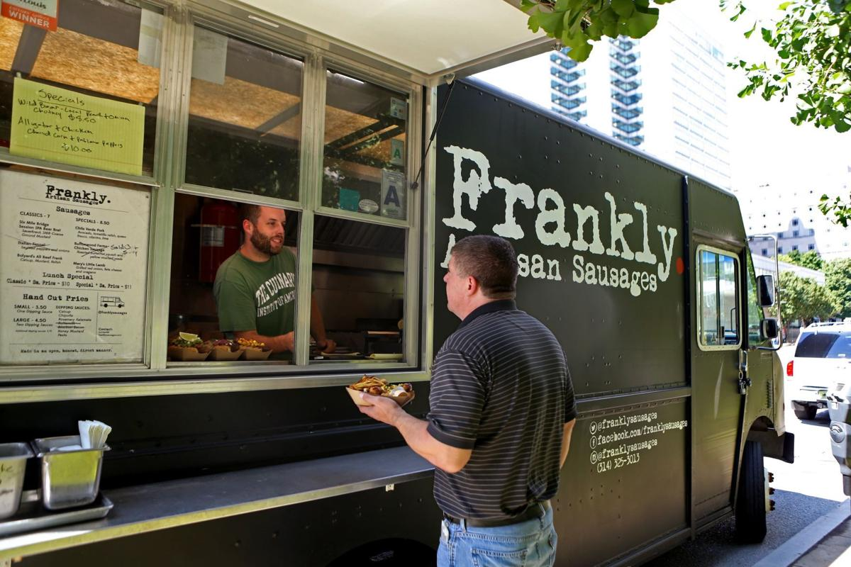 Frankly artisan sausage food truck