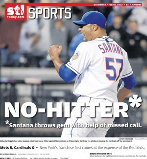 Johan Santana no-hitter