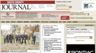 South County Journal Web site keeps you up to date