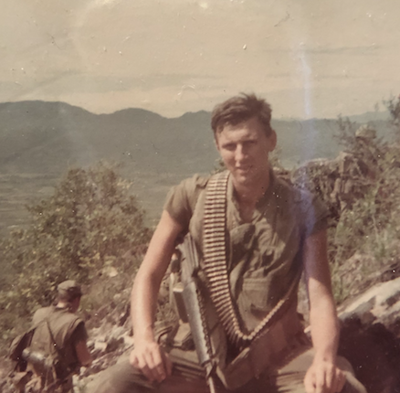 He once buried memories of Vietnam, now this Marine embraces them