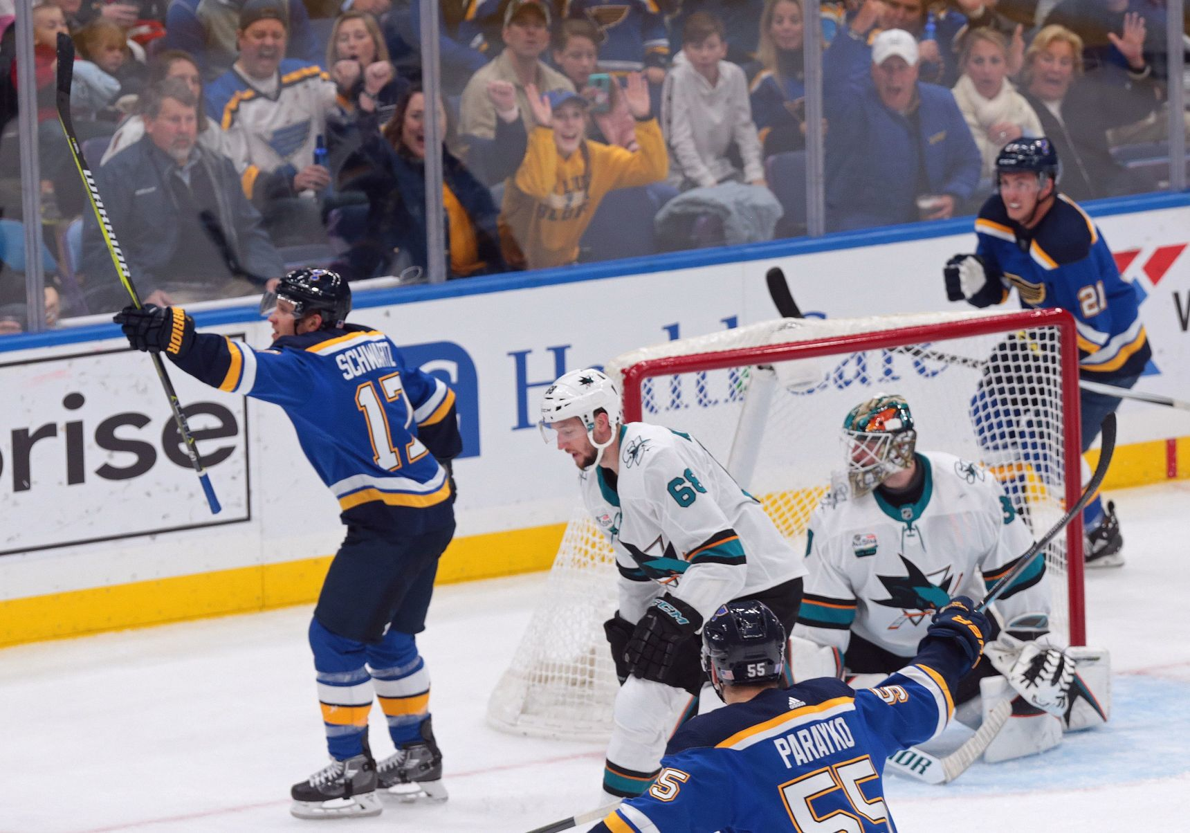 Blues Get That Winning Feeling With Victory Over Sharks