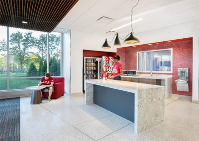 IUPUI North Hall Fleck - Healthy Residence Hall Example