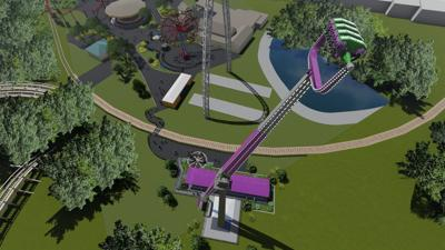 Six Flags will debut a high-flying ride, Catwoman Whip, next