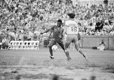 Soccer star Pele