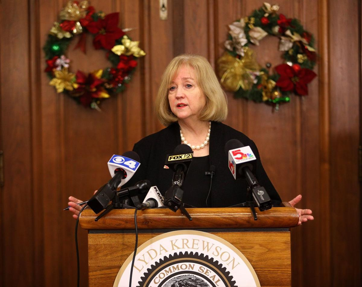 Krewson touts successful year at City Hall