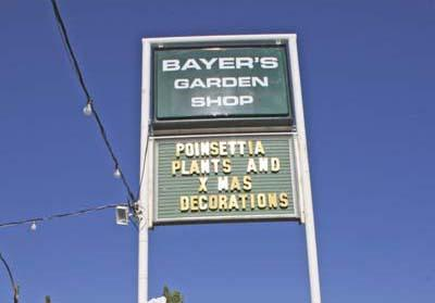 Blooming Business: Bayeru0027s Garden Shop Offers Items For The Yard And Garden