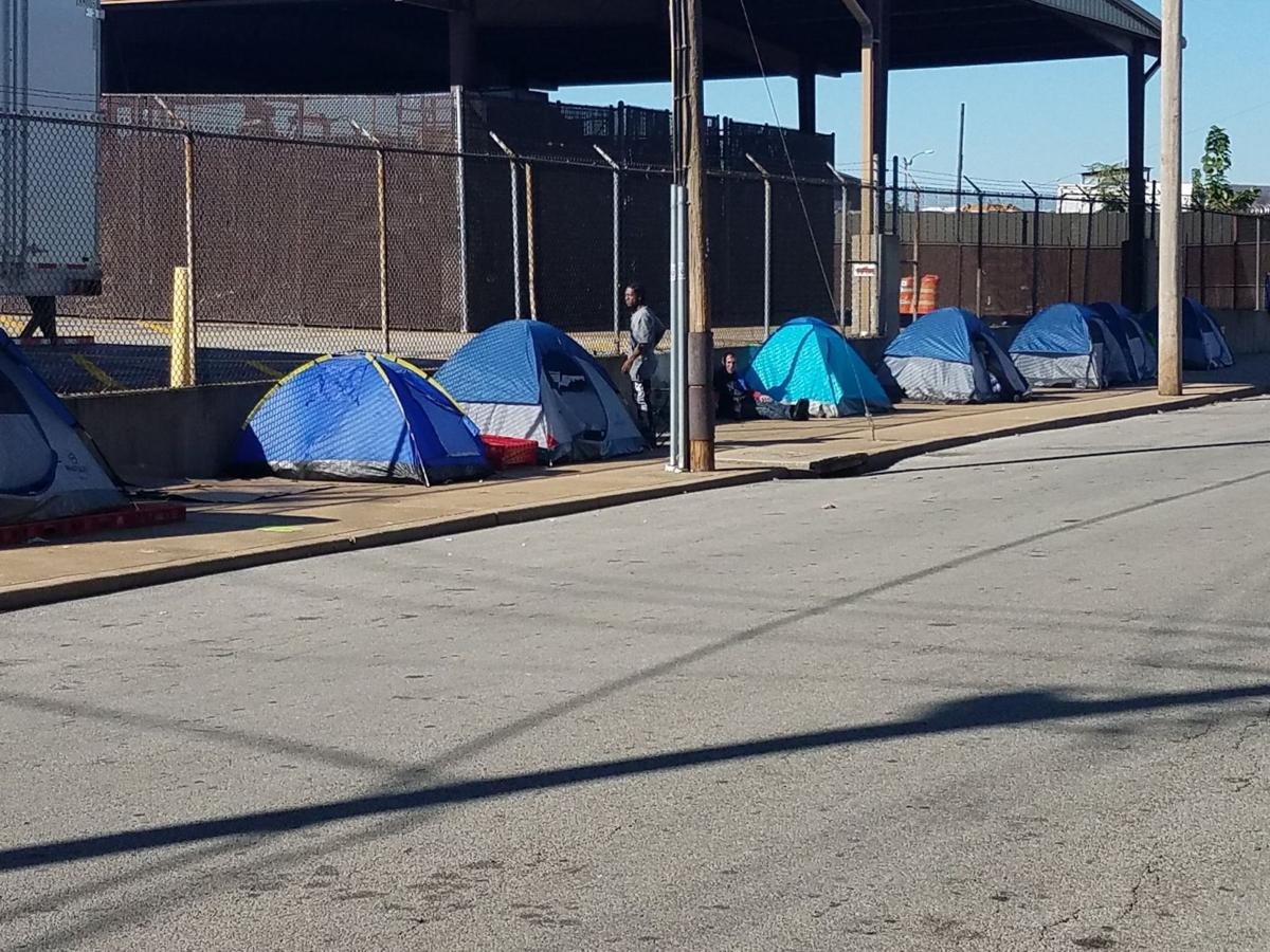 St Louis Homeless Encampment To Have Brief Life Law And Order Stltoday Com