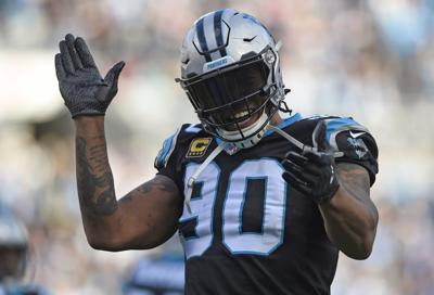 a2d833830 NFL notebook  Panthers  Peppers announces his retirement