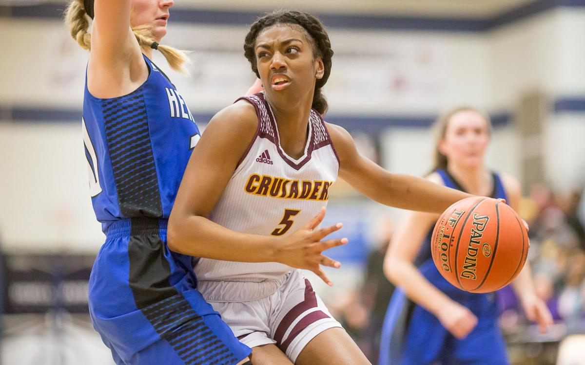 Lutheran North vs. Hermann girls basketball