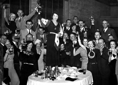Look Back:  Repeal of Prohibition, 1933