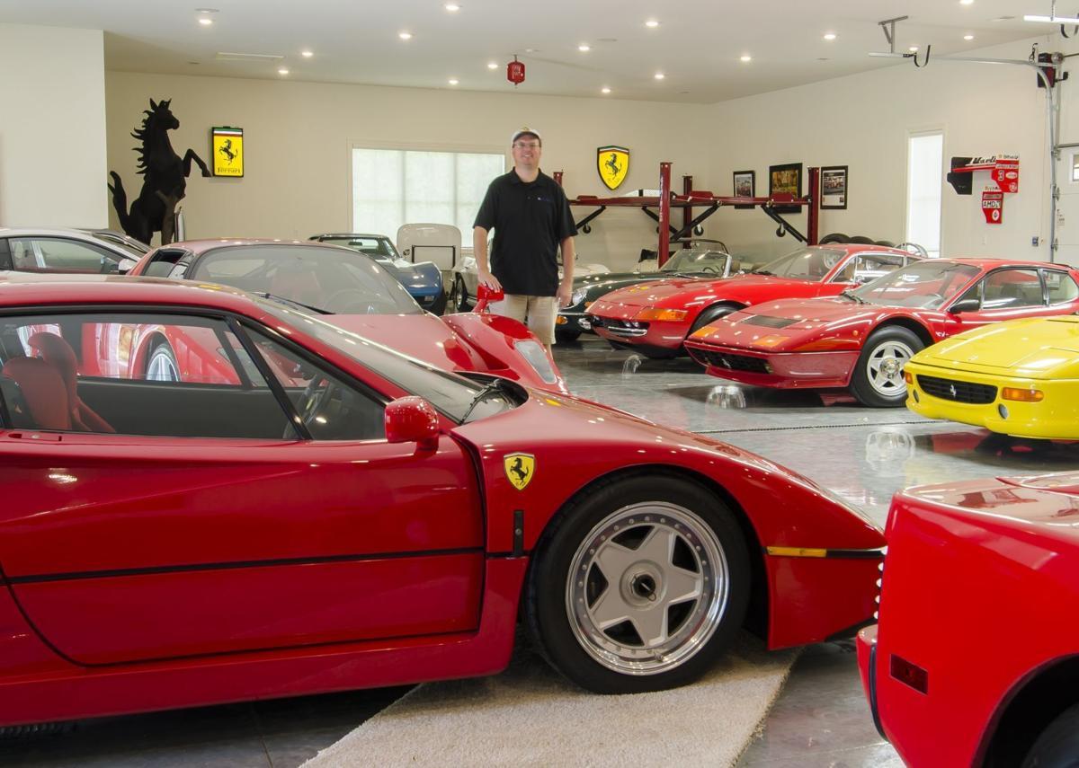 Randy Gori in garage