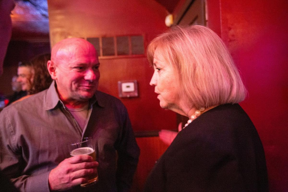 Krewson attends party for County Police Sgt. Keith Wildhaber