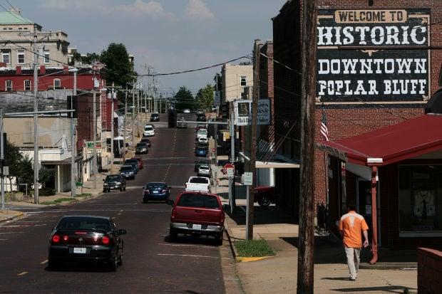 Downtown Poplar Bluff, Mo.