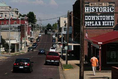 Downtown Poplar Bluff, Mo.