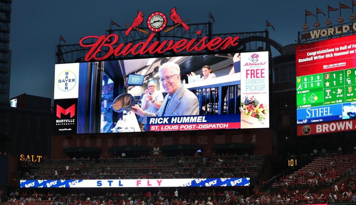 Hummel honored at Busch