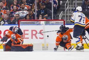 Blues tun es in der Regulierung dieser Zeit, schlagen Oilers 5-2