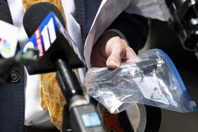 Watkins turns over McCloskey hand gun to law enforcement