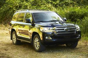 2021 Toyota Land Cruiser.