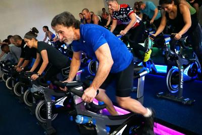 Club Fitness Cycle Class