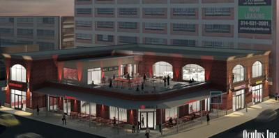 Rendering of the new Humphrey's