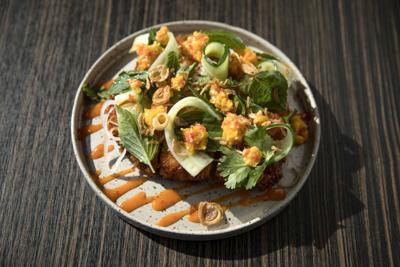 Indo: shrimp toast