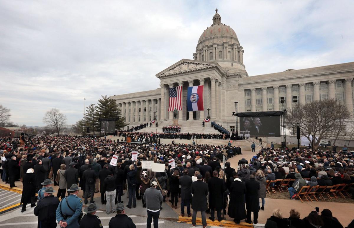Eric Greitens Inauguration as Governor of Missouri