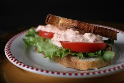 Shrimp Cocktail Salad Sandwich