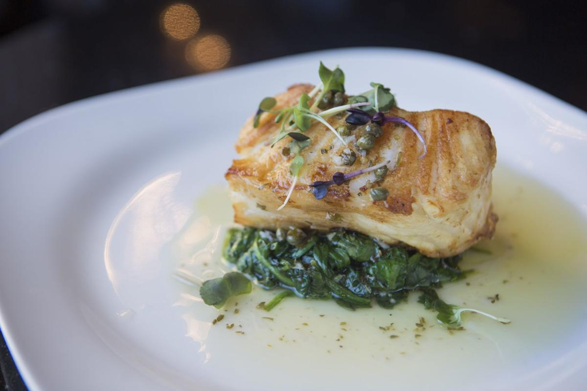 Cafe Napoli Chilean Sea Bass with Capers