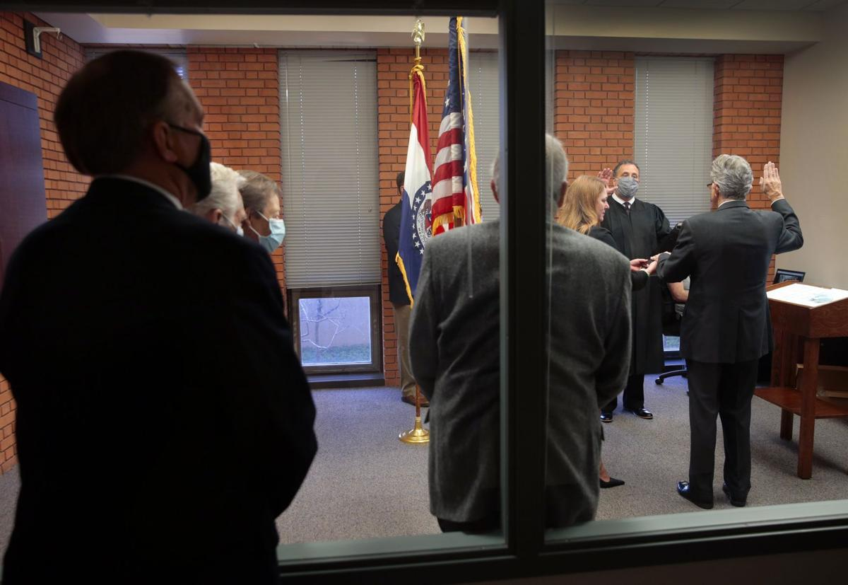 County council members sworn-in virtually