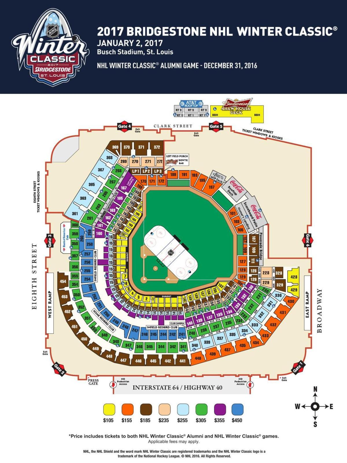 busch stadium map winter classic seating map stltoday com. busch stadium map  convention plaza st louis mo walk score