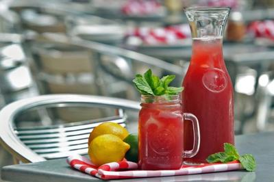 Sangria is a summertime favorite at Pi in the CWE