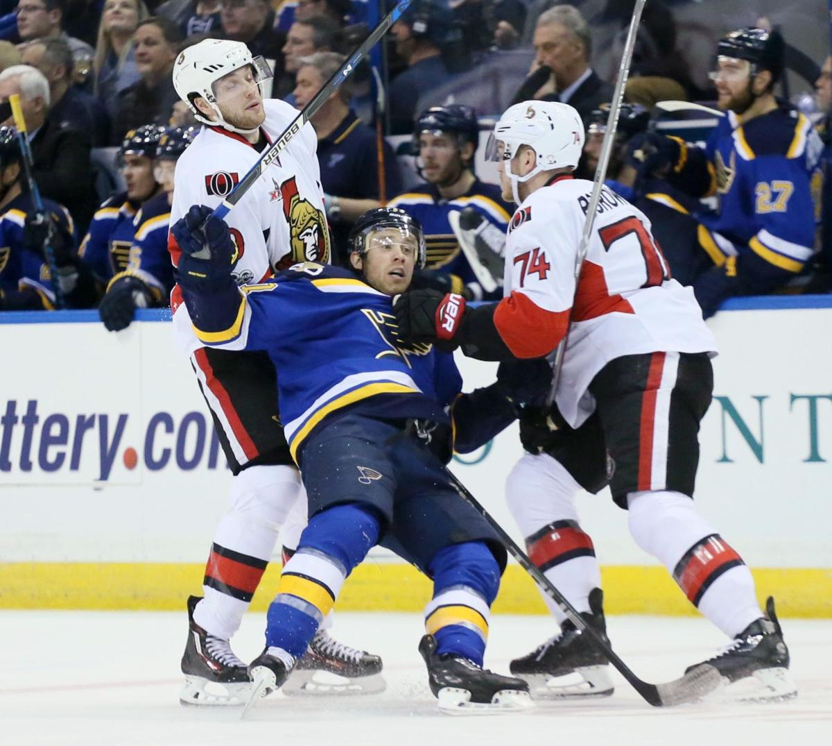 St. Louis Blues v Ottawa Senators