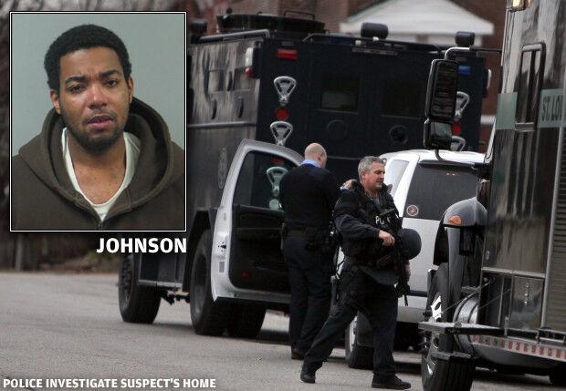 Sean Johnson, home investigated
