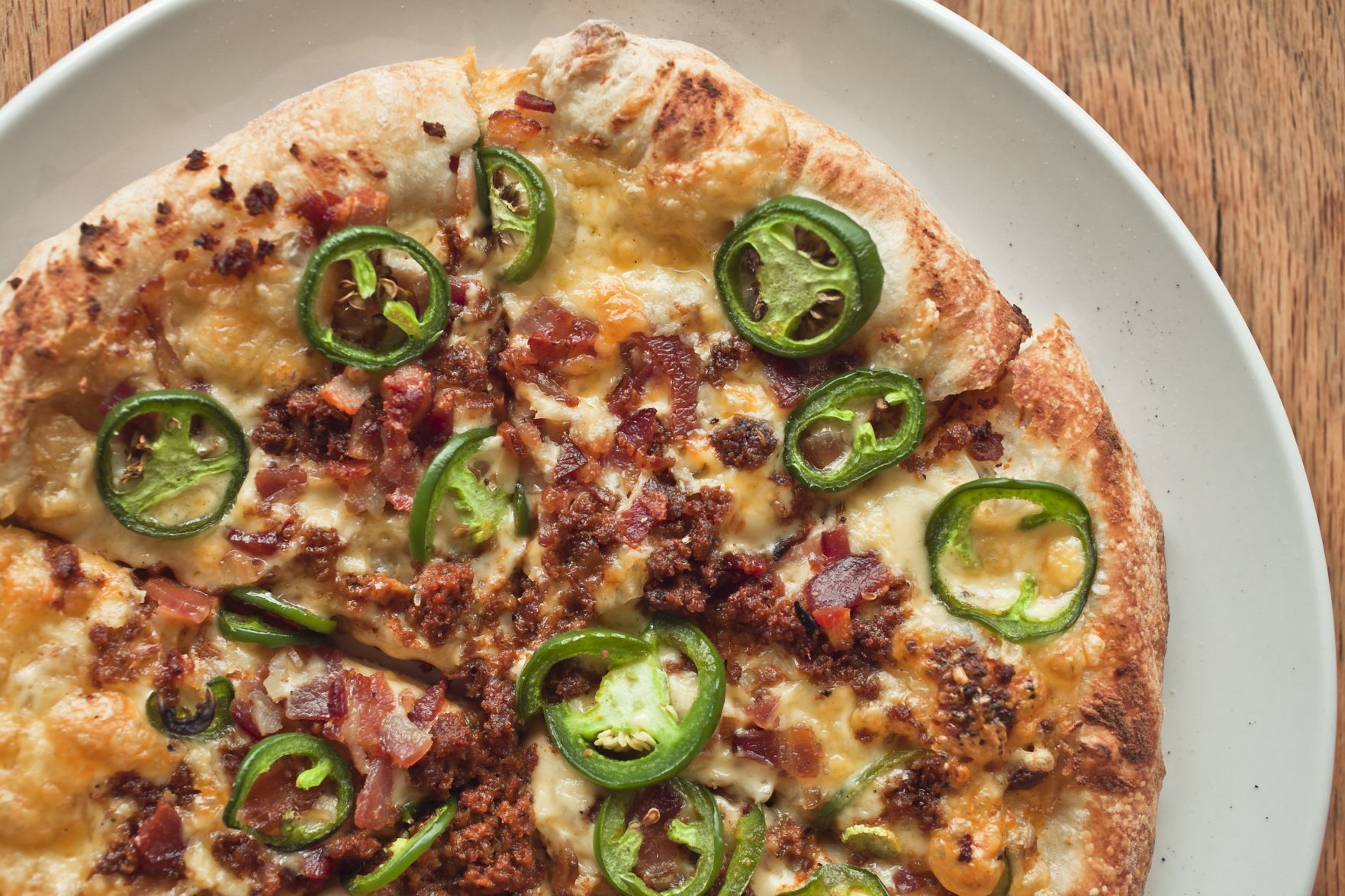 Bailey Big Sausage Pizza