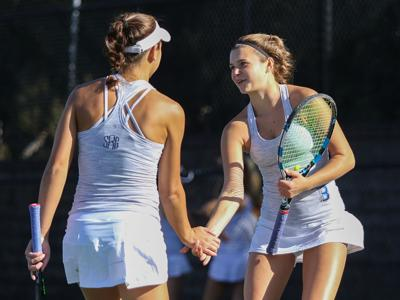 John Burroughs vs. Visitation tennis