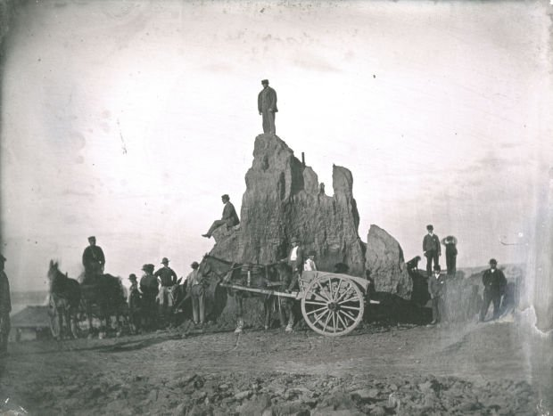The last hours of Big Mound, 1869