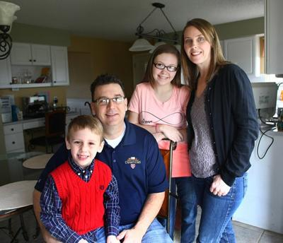 St. Charles family endures through disease, heart attack