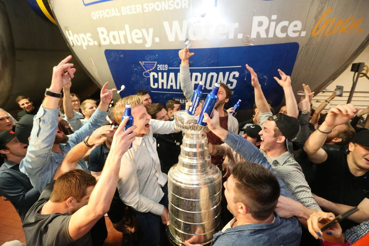 Bud Light releasing 'Gloria Brew' to mark Blues' Stanley Cup victory