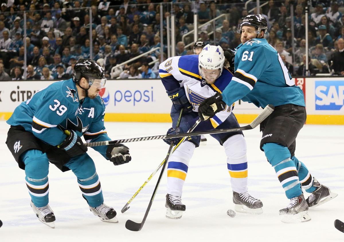 St. Louis Blues at San Jose Sharks Game 6