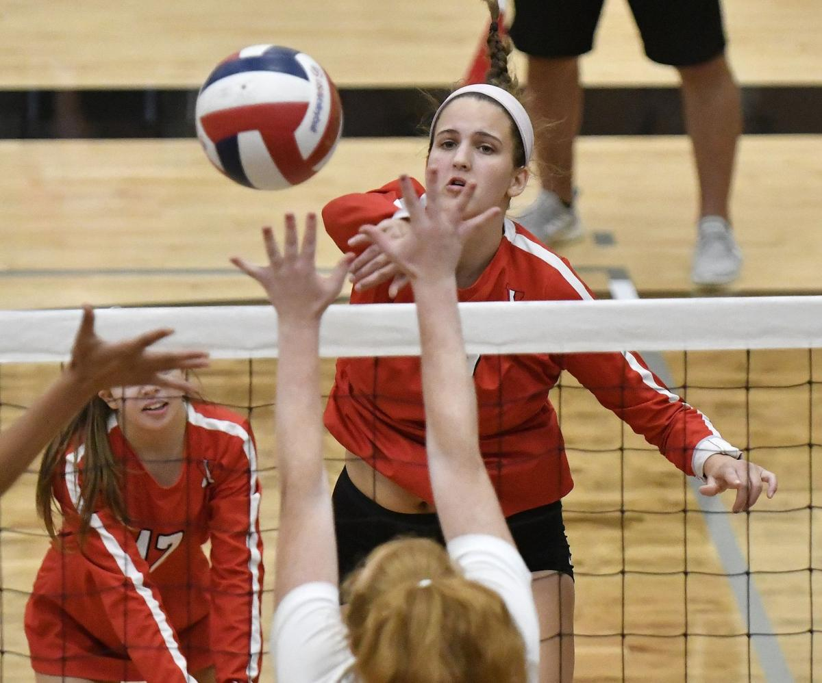 Notebook Visitation Makes Strong Showing At Gateway Triad Finds Some Swagger Girls Volleyball Stltoday Com