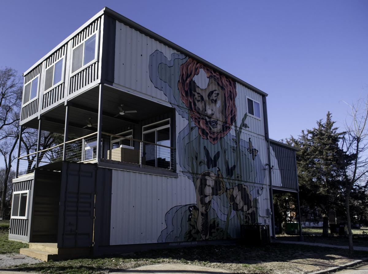 Curiosity builds over Container Home in North St. Louis