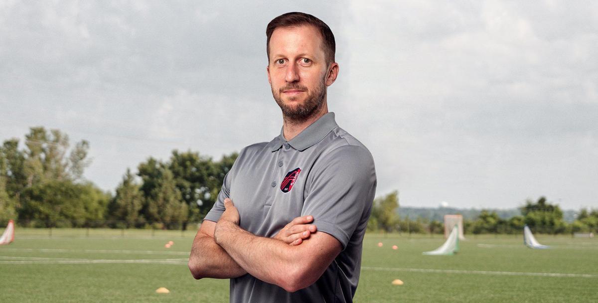 St. Louis City SC academy coach Andreas Schumacher