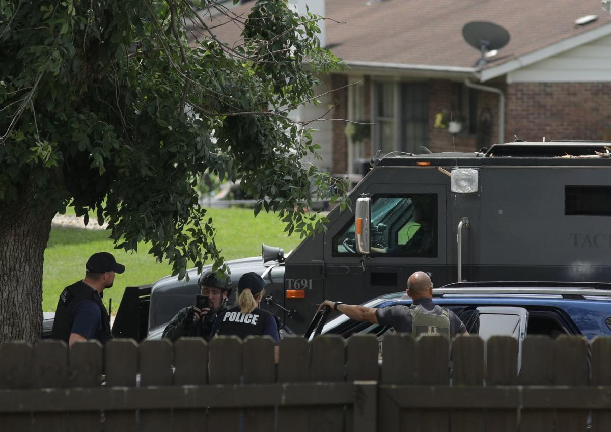 28-hour standoff ends with suspect's death in north St